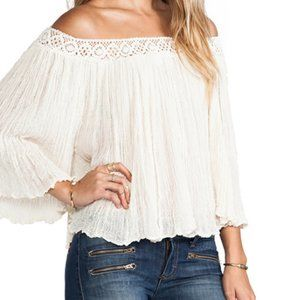 Jen's Pirate Booty Off Shoulder Top Size Small